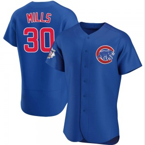 Alec Mills Chicago Cubs Authentic Alternate Jersey - Royal