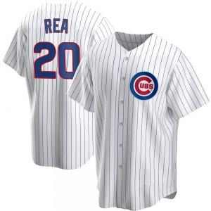 Colin Rea Chicago Cubs Youth Replica Home Jersey - White
