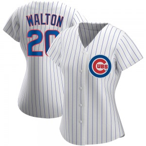 Jerome Walton Chicago Cubs Women's Replica Home Jersey - White