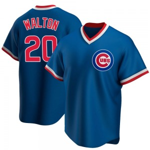 Jerome Walton Chicago Cubs Youth Replica Road Cooperstown Collection Jersey - Royal