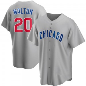 Jerome Walton Chicago Cubs Youth Replica Road Jersey - Gray