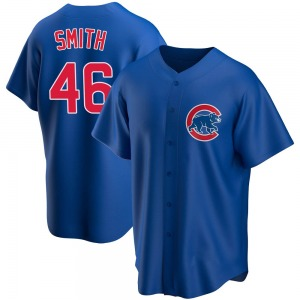 Lee Smith Chicago Cubs Youth Replica Alternate Jersey - Royal